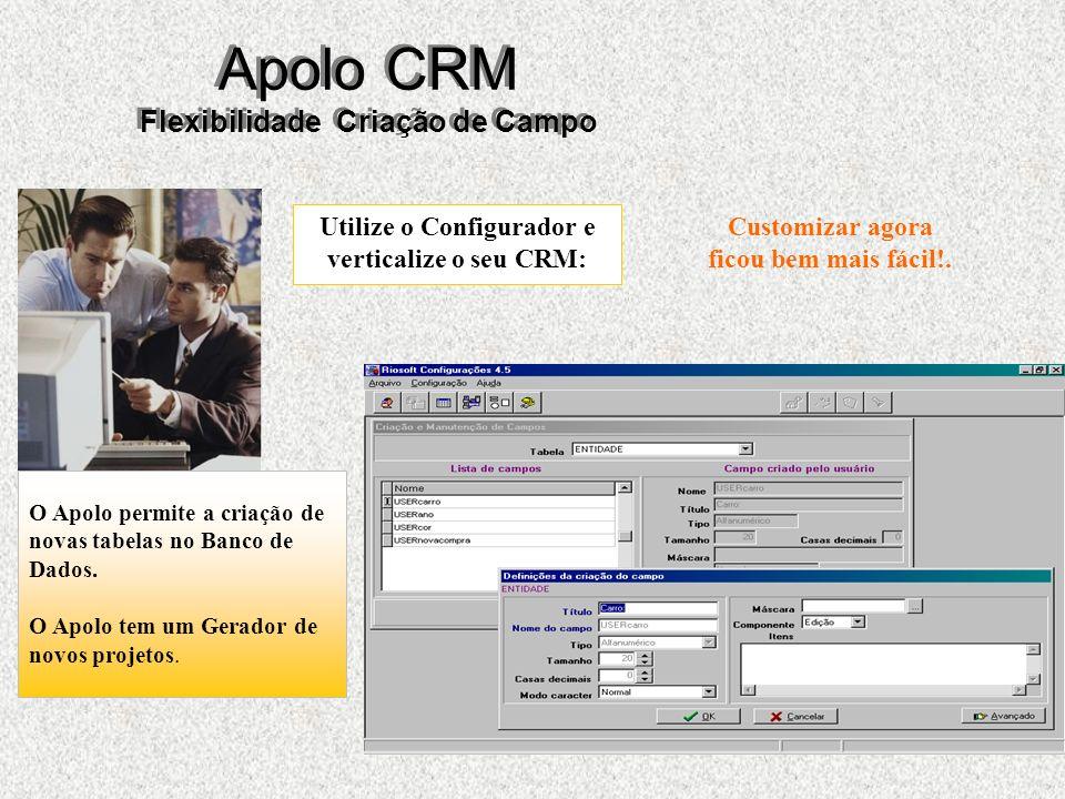 32 Apolo CRM Flexibilidade Criação de Campo Customizar agora ficou bem mais fácil!.