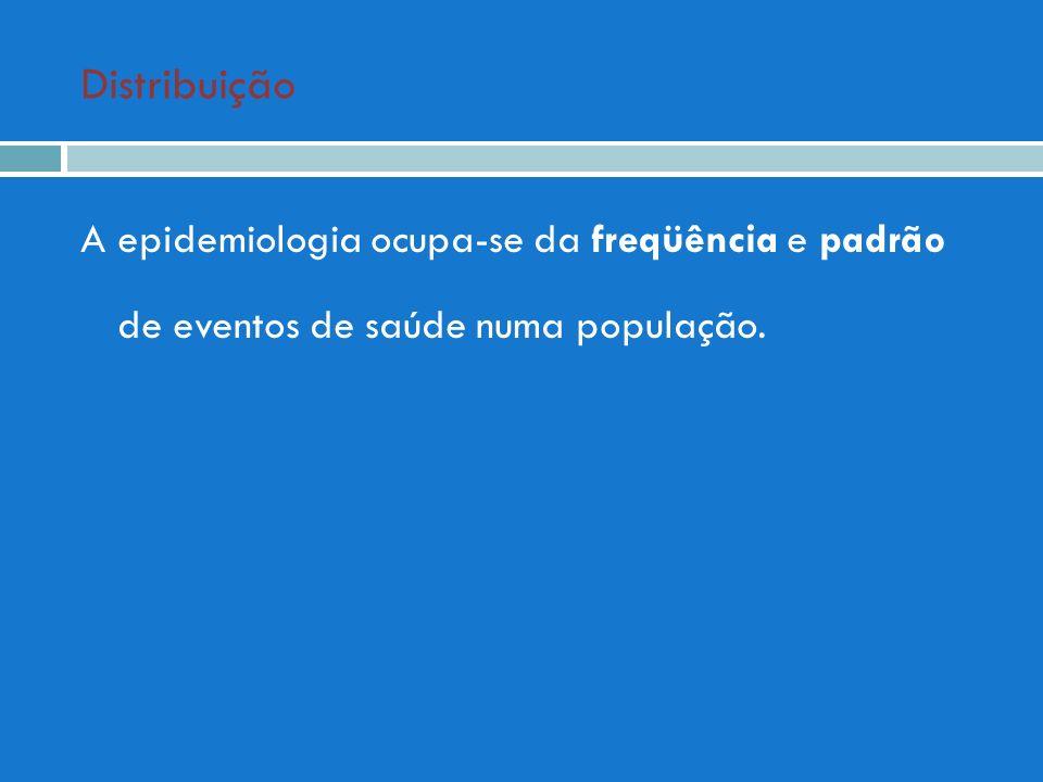 Lógica dos indicadores Indicadores: Relação entre subconjunto de doentes, óbitos, portadores e o conjunto dos membros da população