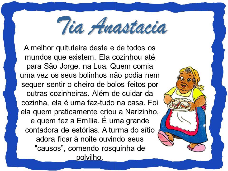É o neto querido de Dona Benta, o primo querido de Narizinho.
