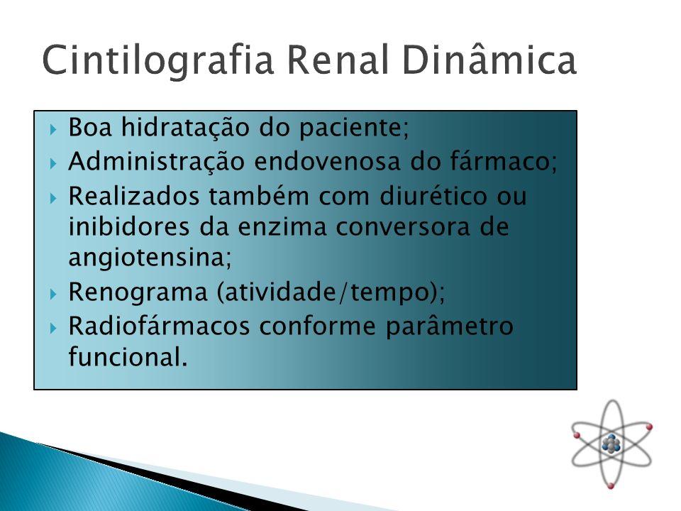 Boa hidratação do paciente; Administração endovenosa do fármaco; Realizados também com diurético ou inibidores da enzima conversora de angiotensina; R
