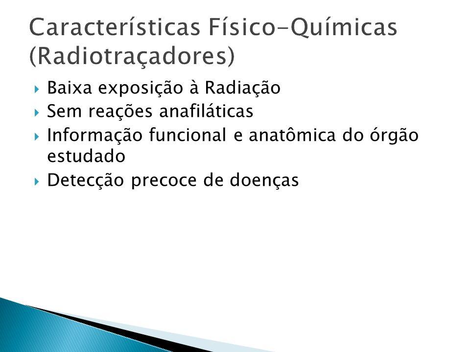 99mTc-DMSA (ácido dimercapto succínico) Imagens obtidas de 3 a 6 horas após administração endovenosa.