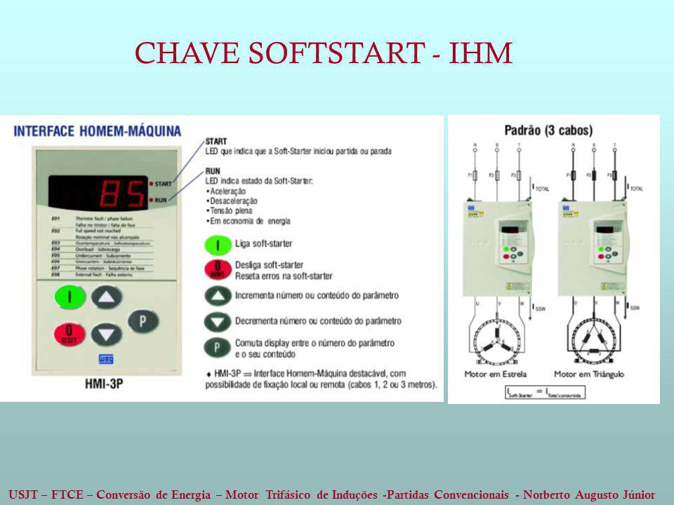 CHAVE SOFTSTART - IHM