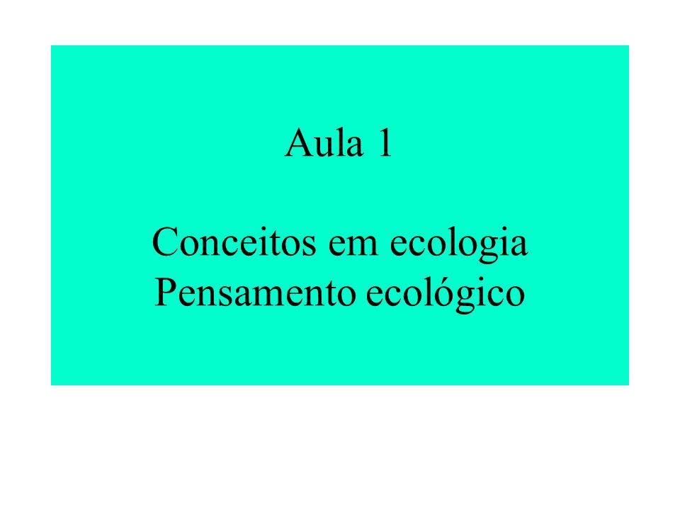 Comparação entre ecossistema terrestre e aquático