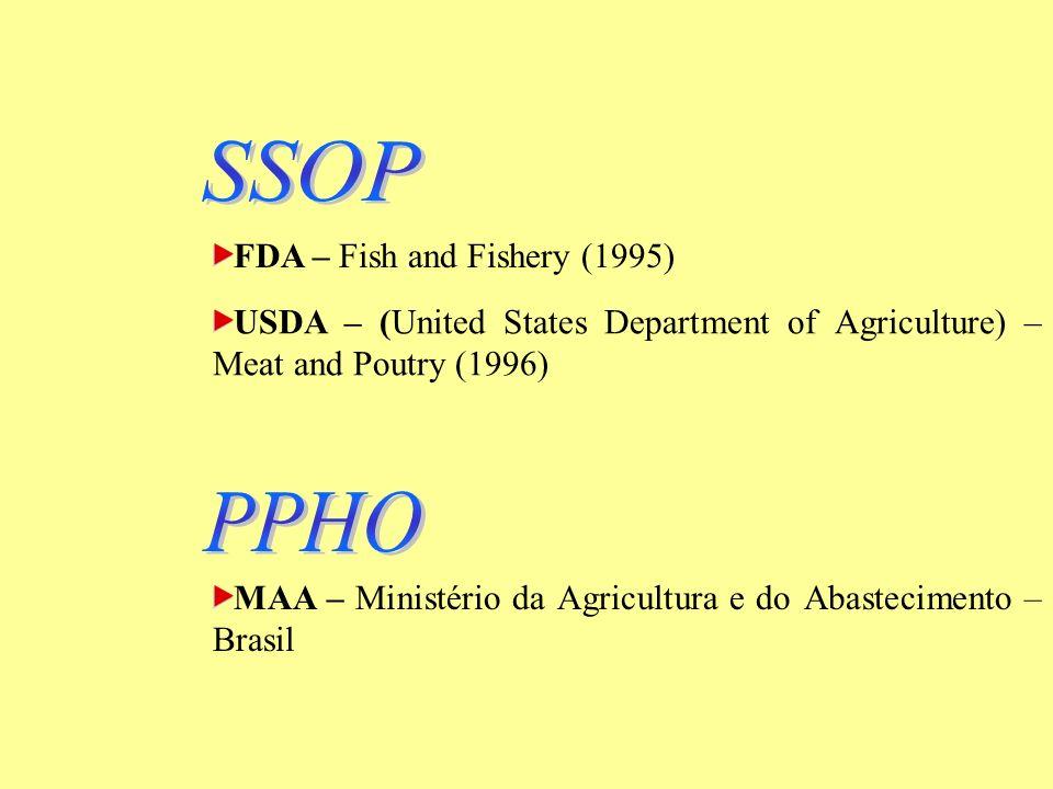BPF – Boas Práticas de Fabricação PPHO – Procedimentos Padrões de Higiene Operacional Simplificam e viabilizam a implementação do APPCC
