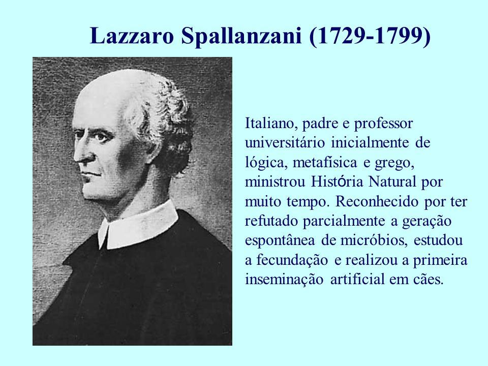 Italiano, padre e professor universitário inicialmente de lógica, metafísica e grego, ministrou Hist ó ria Natural por muito tempo. Reconhecido por te