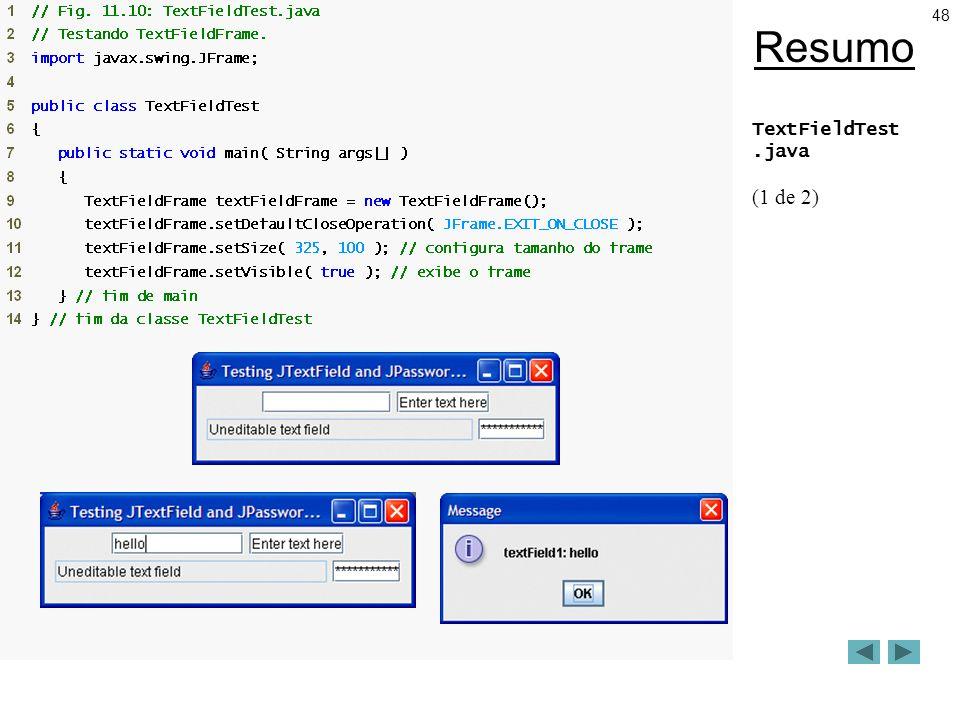48 Resumo TextFieldTest.java (1 de 2)