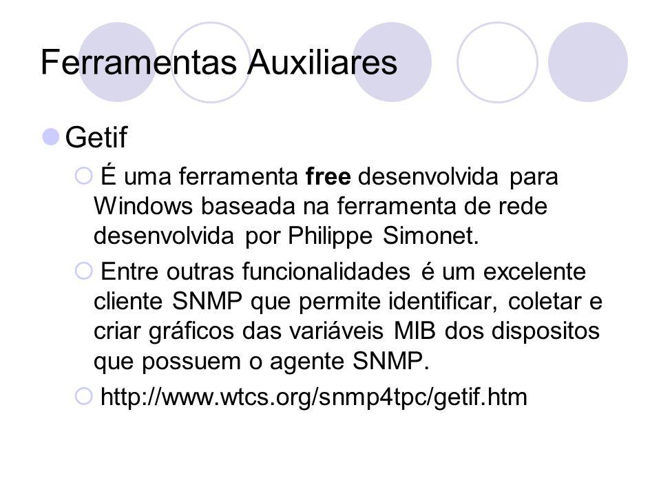 Ferramentas Auxiliares Getif É uma ferramenta free desenvolvida para Windows baseada na ferramenta de rede desenvolvida por Philippe Simonet. Entre ou
