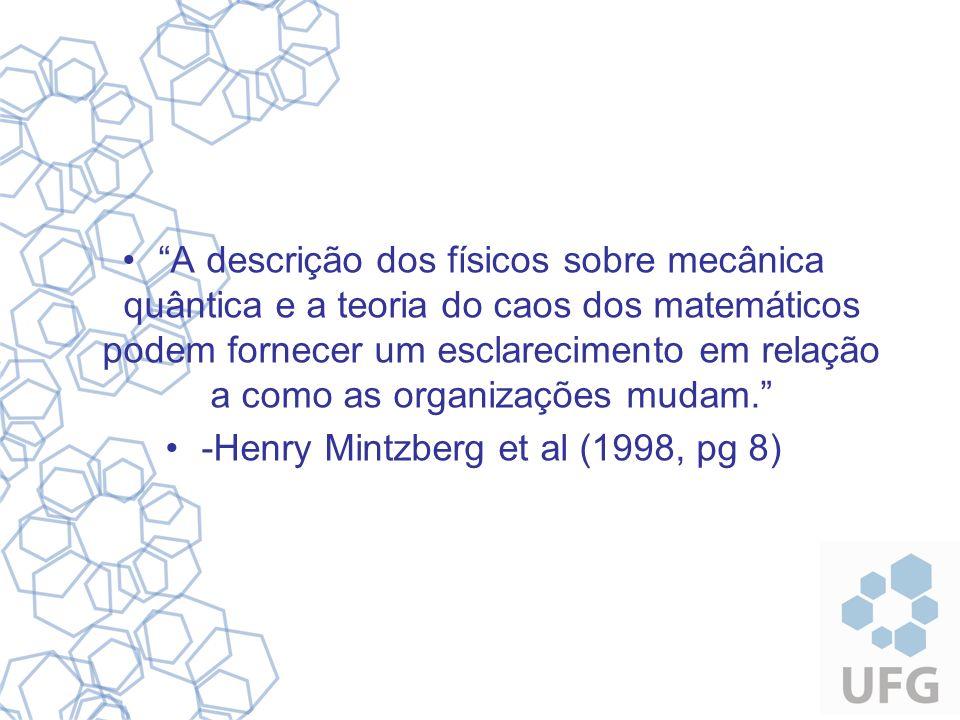 Introdução Complexidade nas Organizações; Rapidez das Tomadas de Decisão; Surgimento de novas abordagens; Teoria do Caos – filosofia Científica; Objetivos: –Organizações = sistemas caóticos.