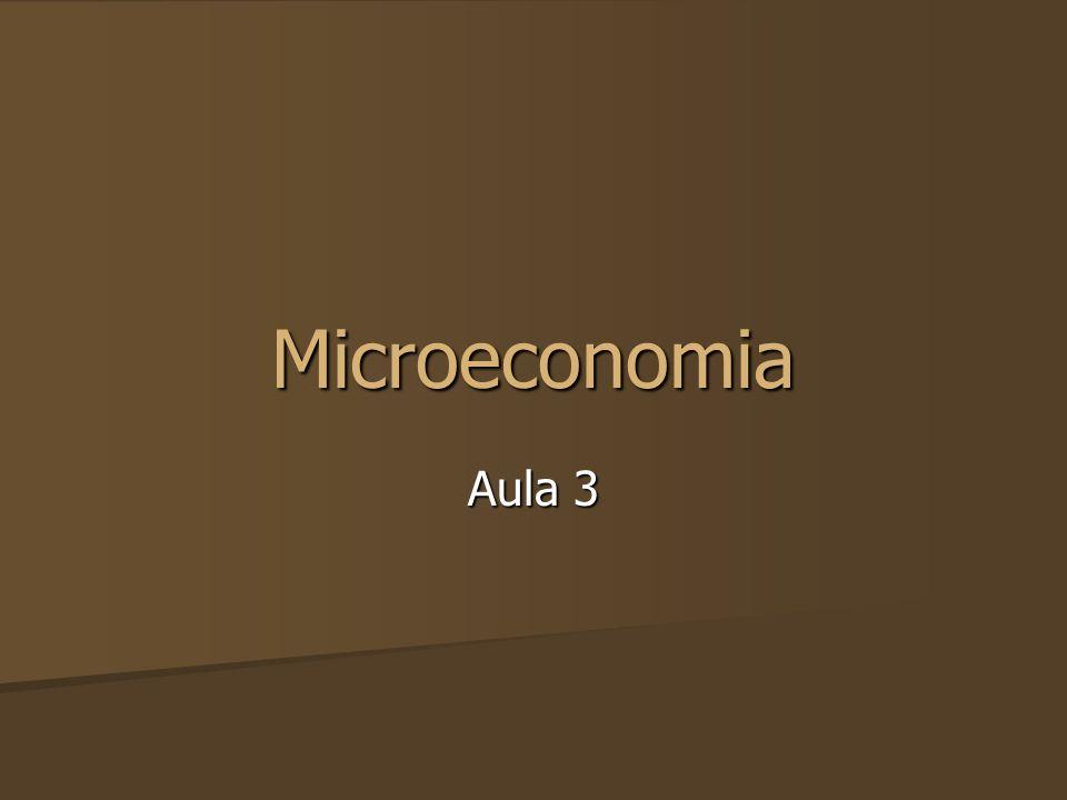 Microeconomia Aula 3