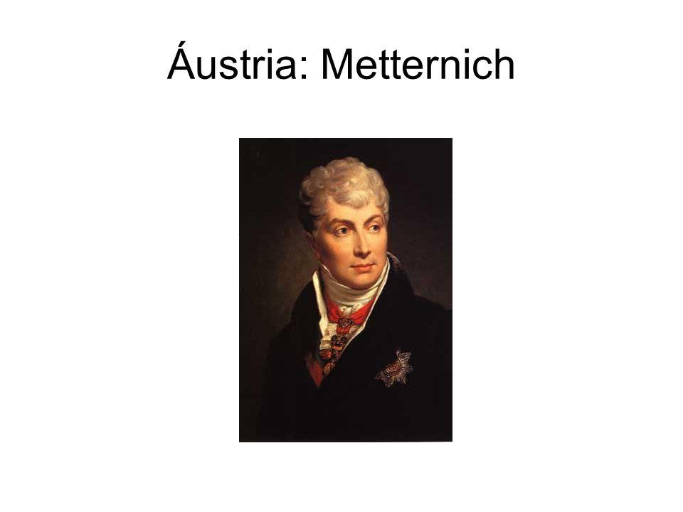 Áustria: Metternich