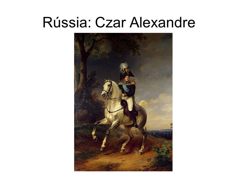 Rússia: Czar Alexandre