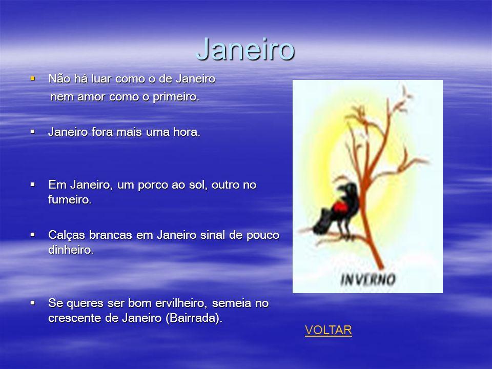 Janeiro Não há luar como o de Janeiro Não há luar como o de Janeiro nem amor como o primeiro. nem amor como o primeiro. Janeiro fora mais uma hora. Ja