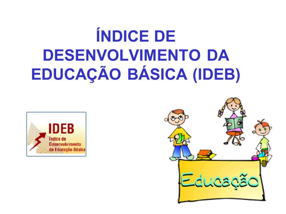 ÍNDICE DE DESENVOLVIMENTO DA EDUCAÇÃO BÁSICA (IDEB)