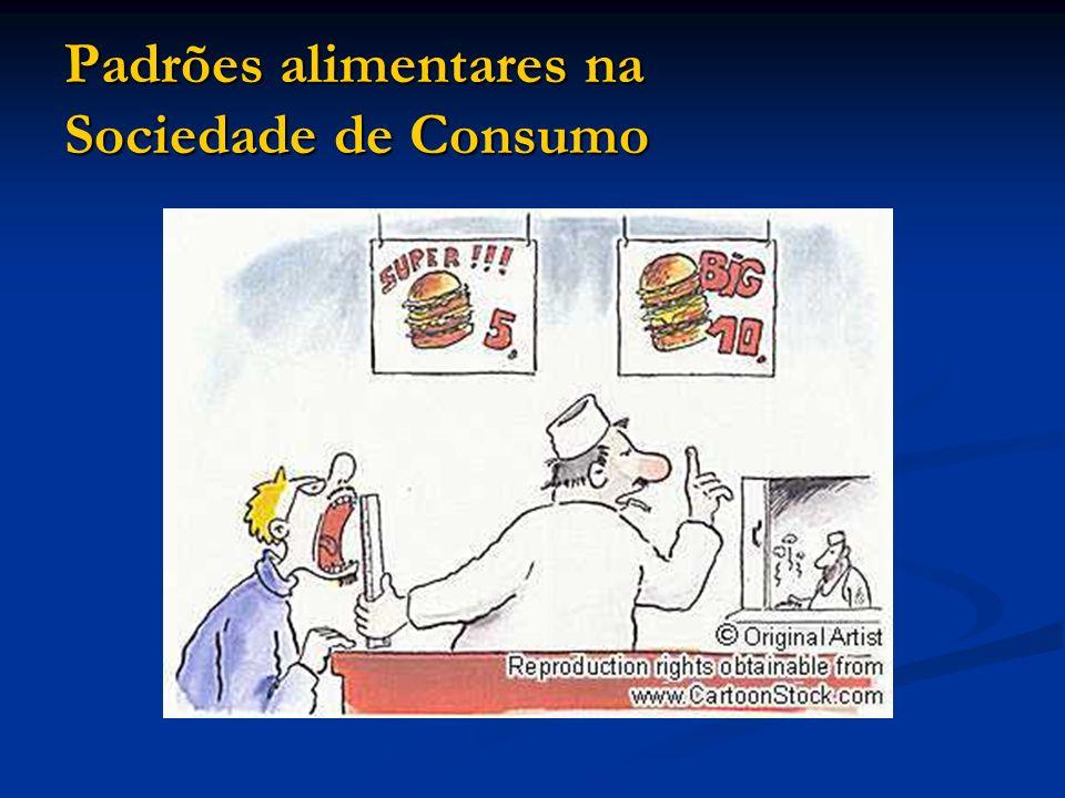 Padrões alimentares na Sociedade de Consumo