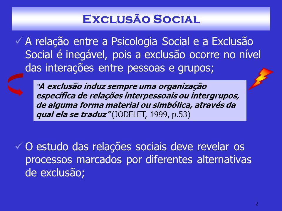 13 Exclusão Social – Fontes Geradoras G.