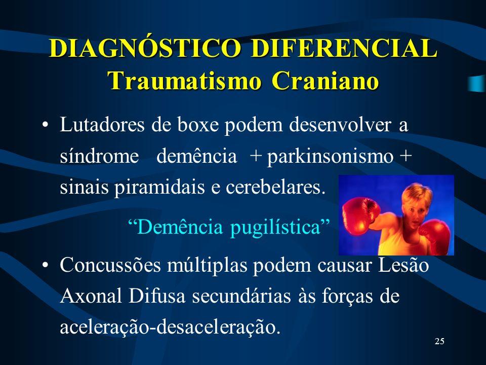 24 DIAGNÓSTICO DIFERENCIAL Tremor Essencial ou Familiar Faça os mesmos desenhos: