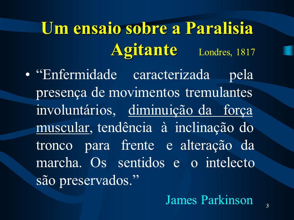 A doença de Parkinson (DP) ou Mal de Parkinson È uma doença degenerativa, crônica e progressiva, que acomete em geral pessoas idosas. Ela ocorre pela