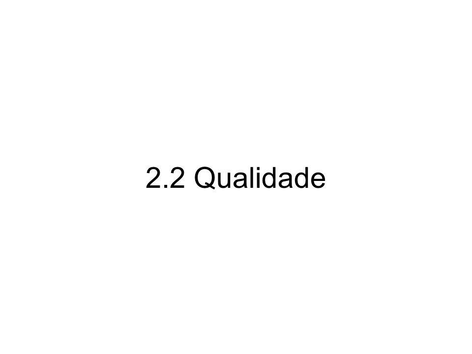 2.2 Qualidade