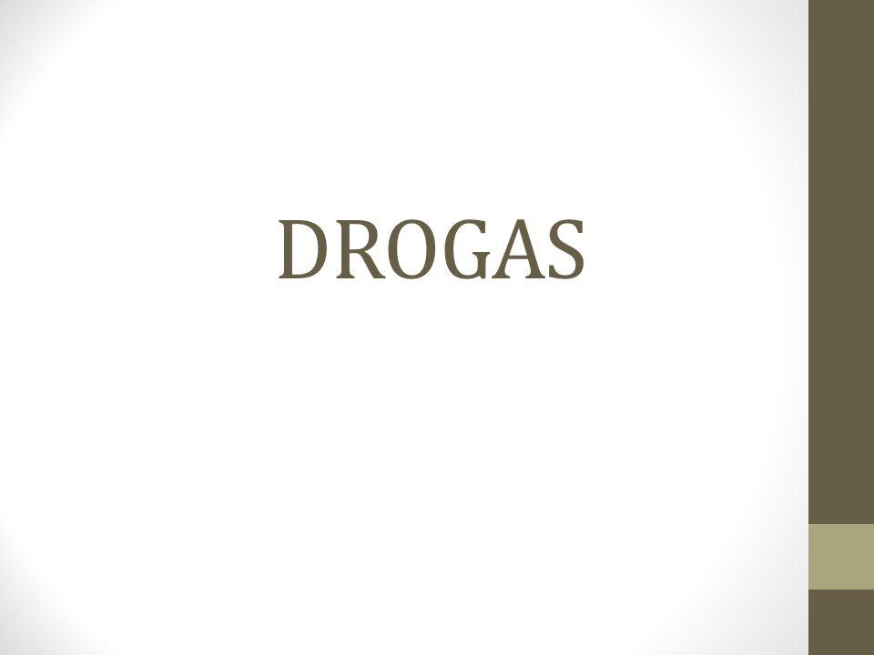 Conceito de Droga Drogas são substâncias utilizadas para produzir alterações, mudanças, nas sensações, no grau de consciência e no estado emocional.