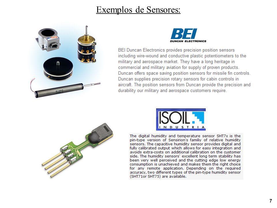 8 Exemplos de Sensores: Aplicações Biomédicas