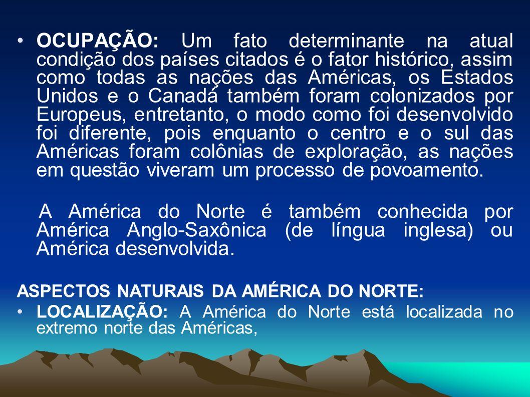 Critérios Físicos – América do Sul