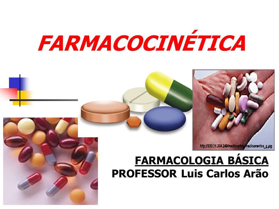 FARMACOCINÉTICA FARMACOLOGIA BÁSICA PROFESSOR Luis Carlos Arão