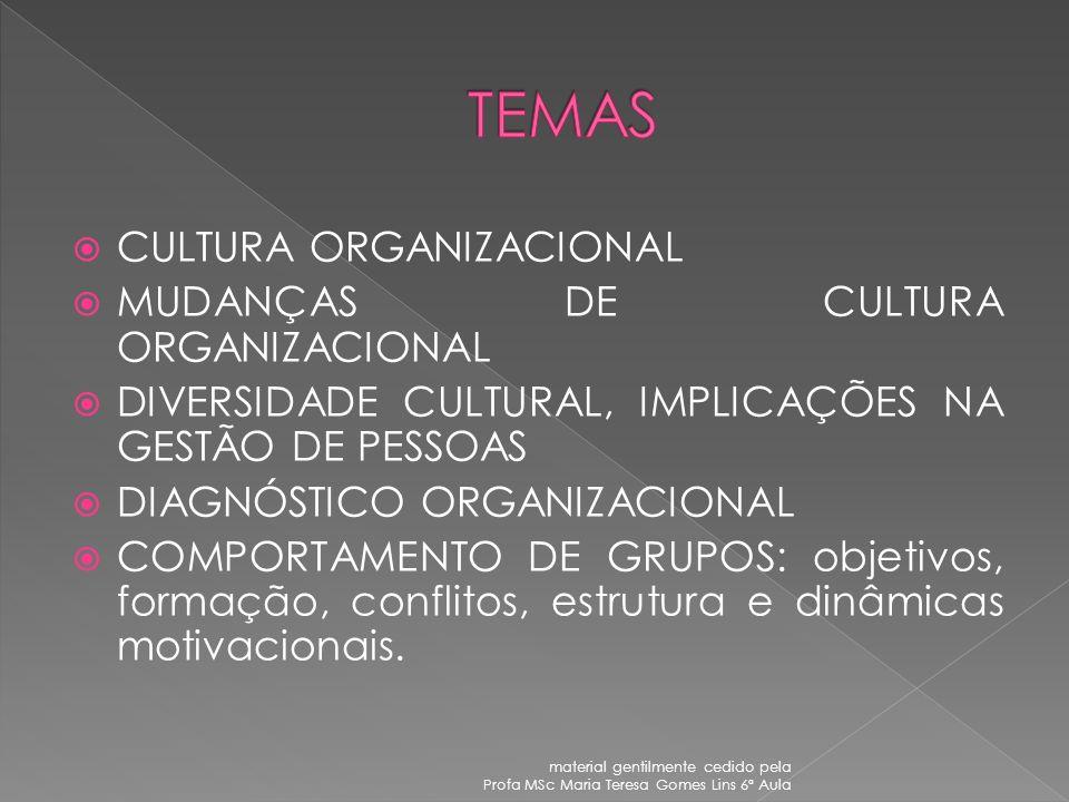 material gentilmente cedido pela Profa MSc Maria Teresa Gomes Lins 6ª Aula UNIVERSIDADE FEDERAL DE SERGIPE CURSO DE APERFEIÇOAMENTO EM GESTÃO PÚBLICA