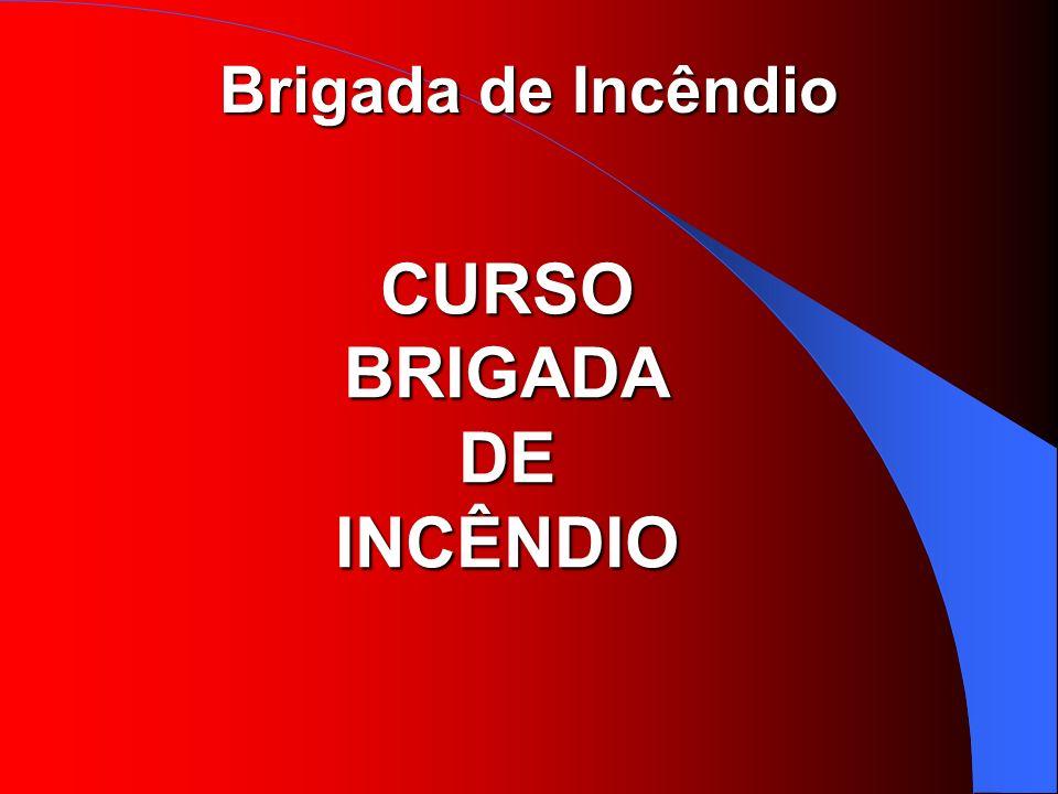 Brigada de Incêndio CURSO BRIGADA DE INCÊNDIO