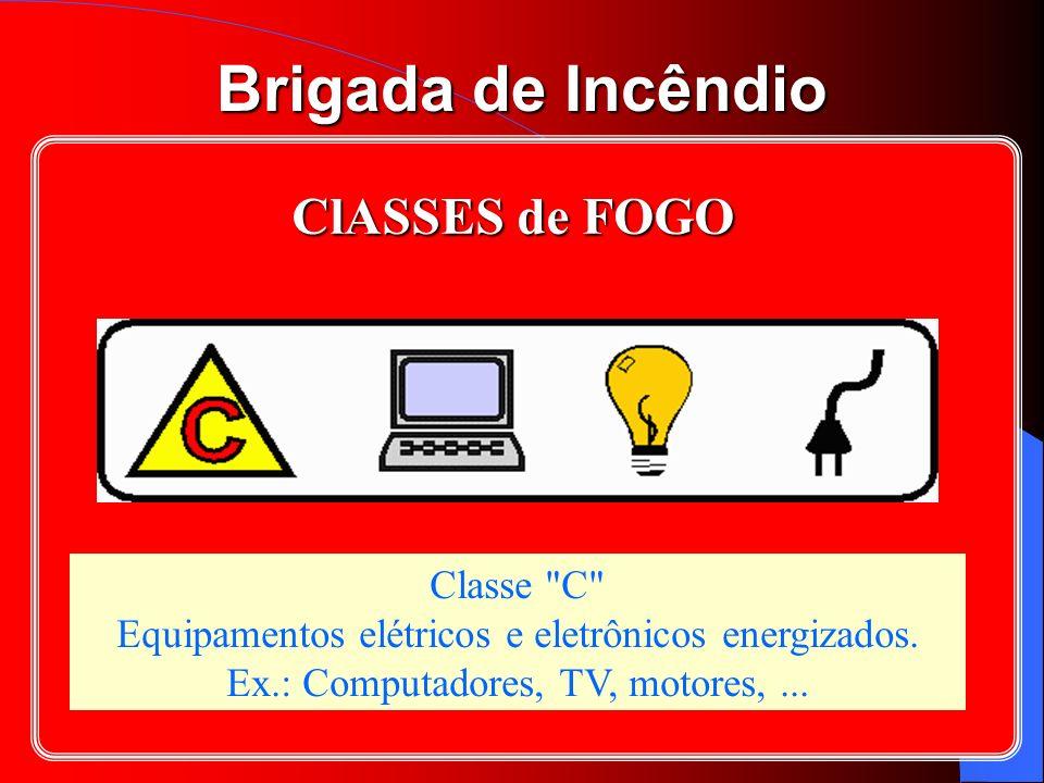 Brigada de Incêndio Classe