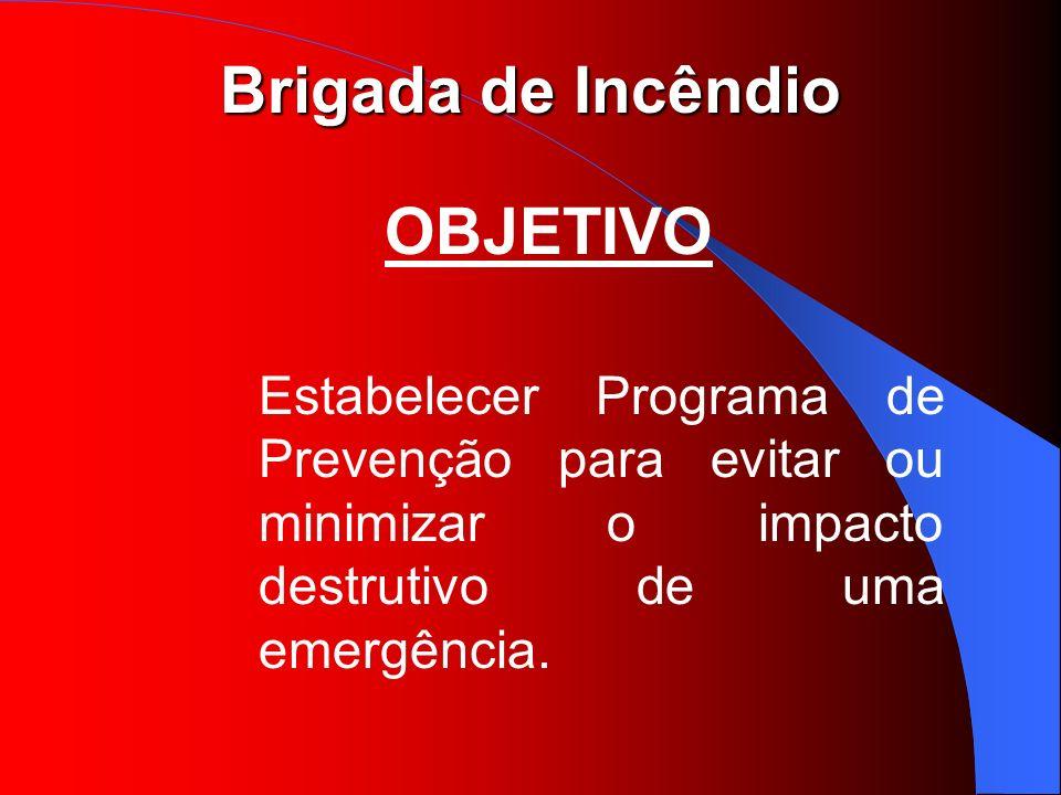Brigada de Incêndio RESPONSABILIDADES DO BRIGADISTA