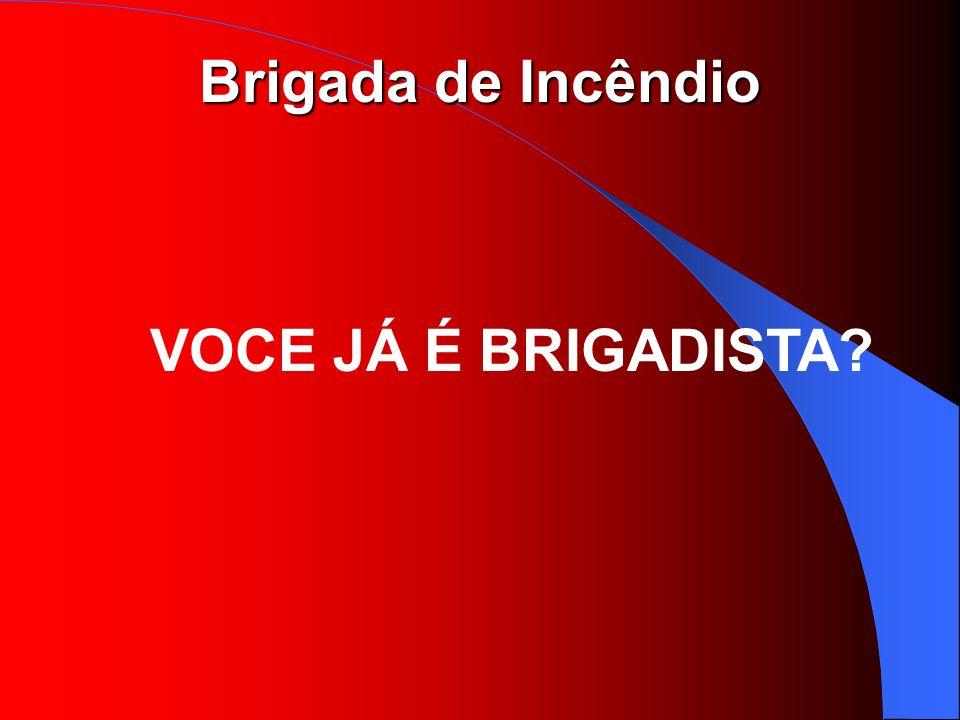 Brigada de Incêndio VOCE JÁ É BRIGADISTA?