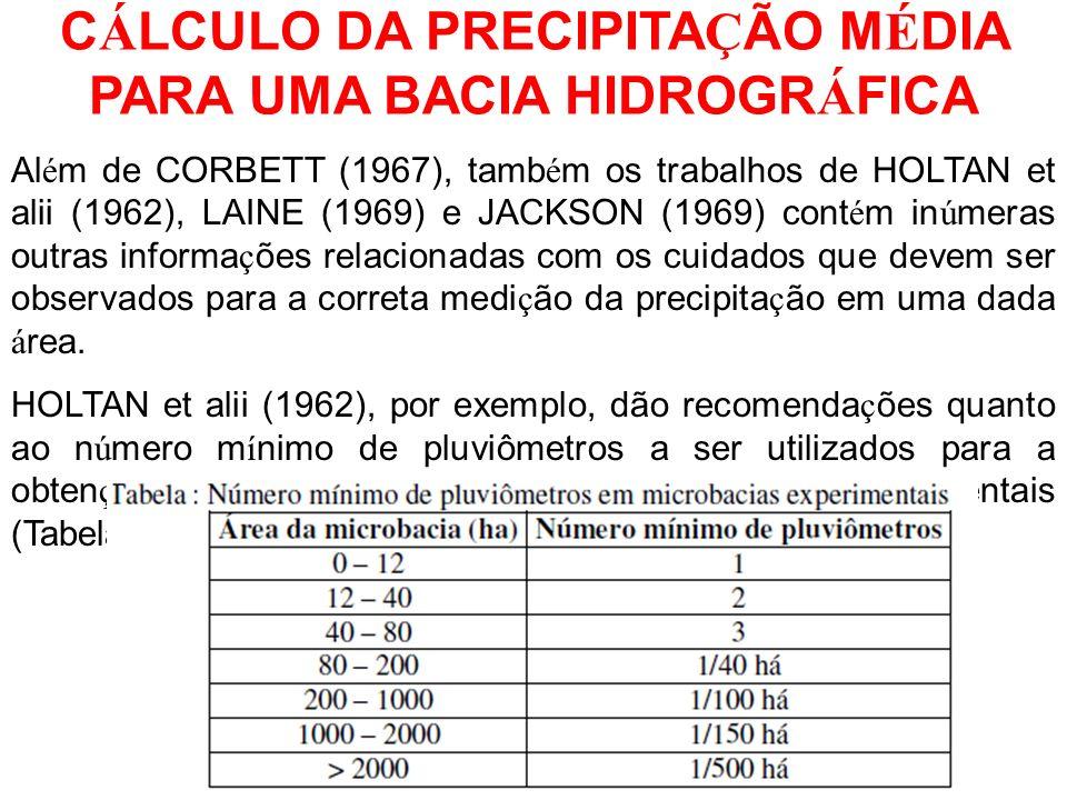 Al é m de CORBETT (1967), tamb é m os trabalhos de HOLTAN et alii (1962), LAINE (1969) e JACKSON (1969) cont é m in ú meras outras informa ç ões relac