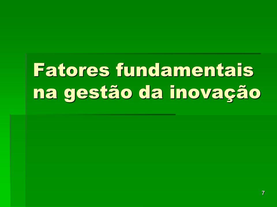 8 Inovação O que é inovação.- Envolve mudanças O que é inovação.