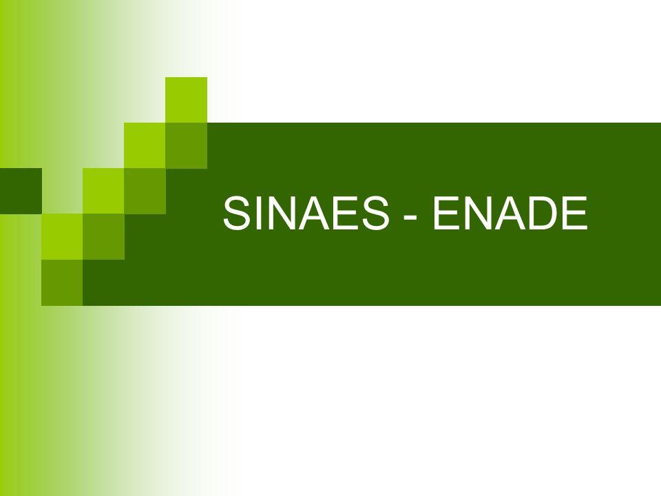 SINAES - ENADE