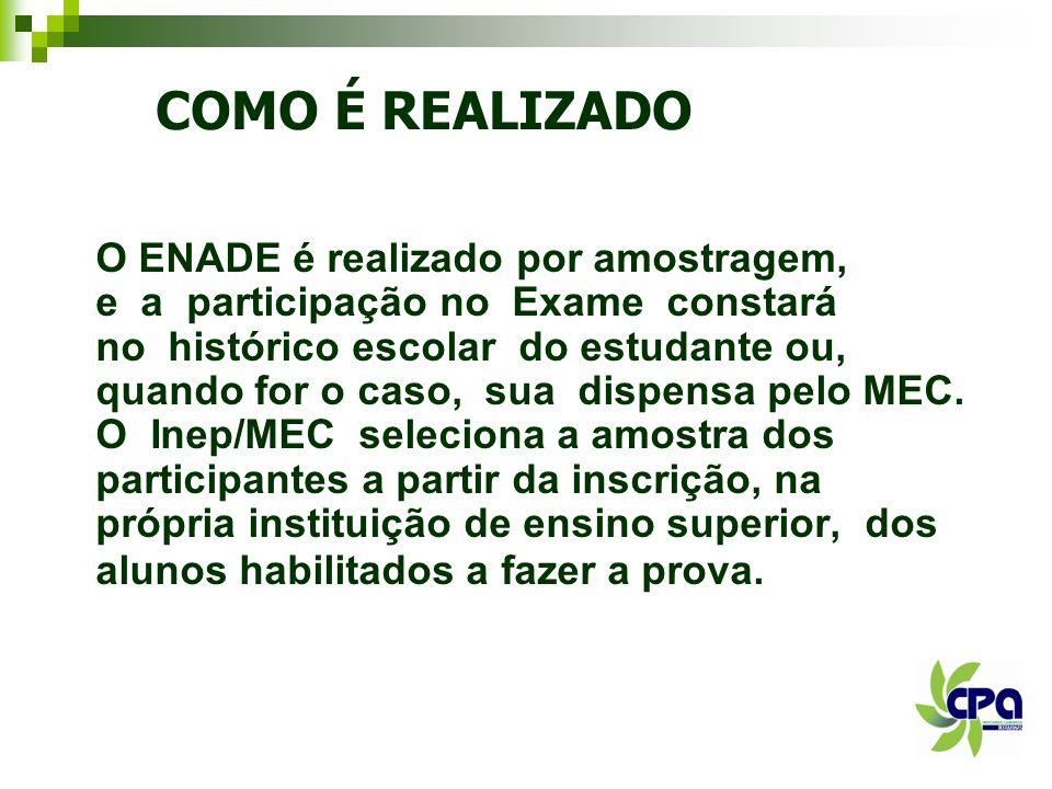QUAL A RESPONSABILIDADE DO ESTUDANTE PARA O ENADE .