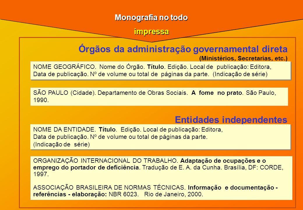 ORGANIZAÇÃO INTERNACIONAL DO TRABALHO. Adaptação de ocupações e o emprego do portador de deficiência. Tradução de E. A. da Cunha. Brasília, DF: CORDE,