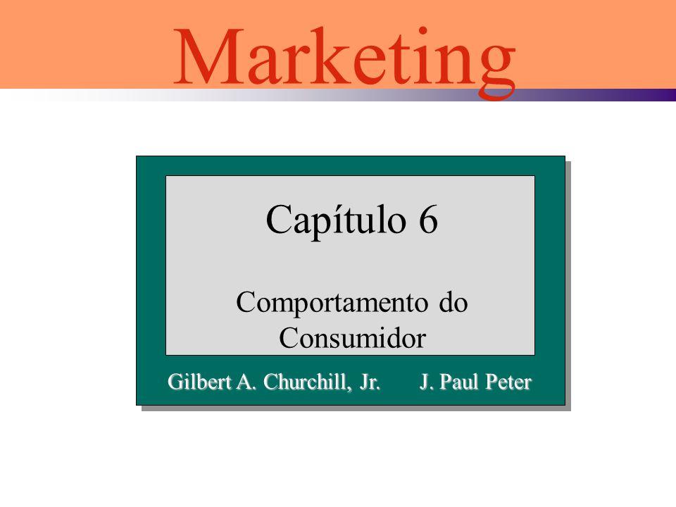 Gilbert A. Churchill, Jr. J. Paul Peter Capítulo 6 Comportamento do Consumidor Marketing