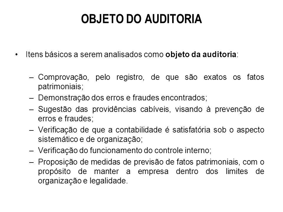 Normas de Auditoria Independente Geralmente Aceitas Normas relativas ao parecer de auditoria : –Adesão às Normas de Auditoria Geralmente Aceitas; –Conformidade das demonstrações contábeis em relação aos princípios contábeis; –Opinião do(s) auditore0s)