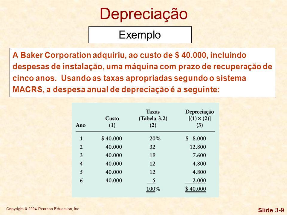 Copyright © 2004 Pearson Education, Inc. Slide 3-39 Lidando com a incerteza no orçamento de caixa