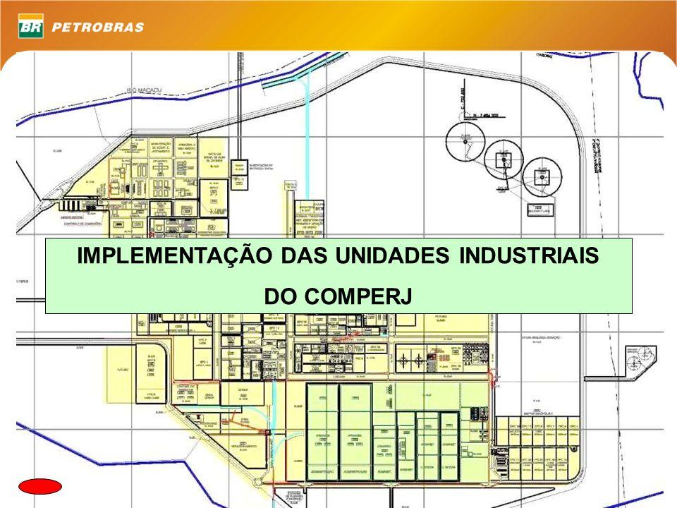 IMPLEMENTAÇÃO DAS UNIDADES INDUSTRIAIS DO COMPERJ