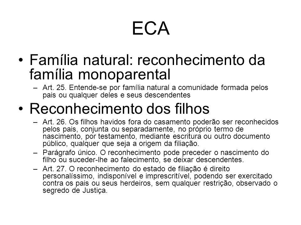 Familia Natural Eca Eca Família Natural