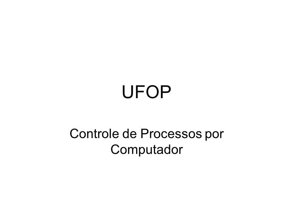 UFOP Controle de Processos por Computador