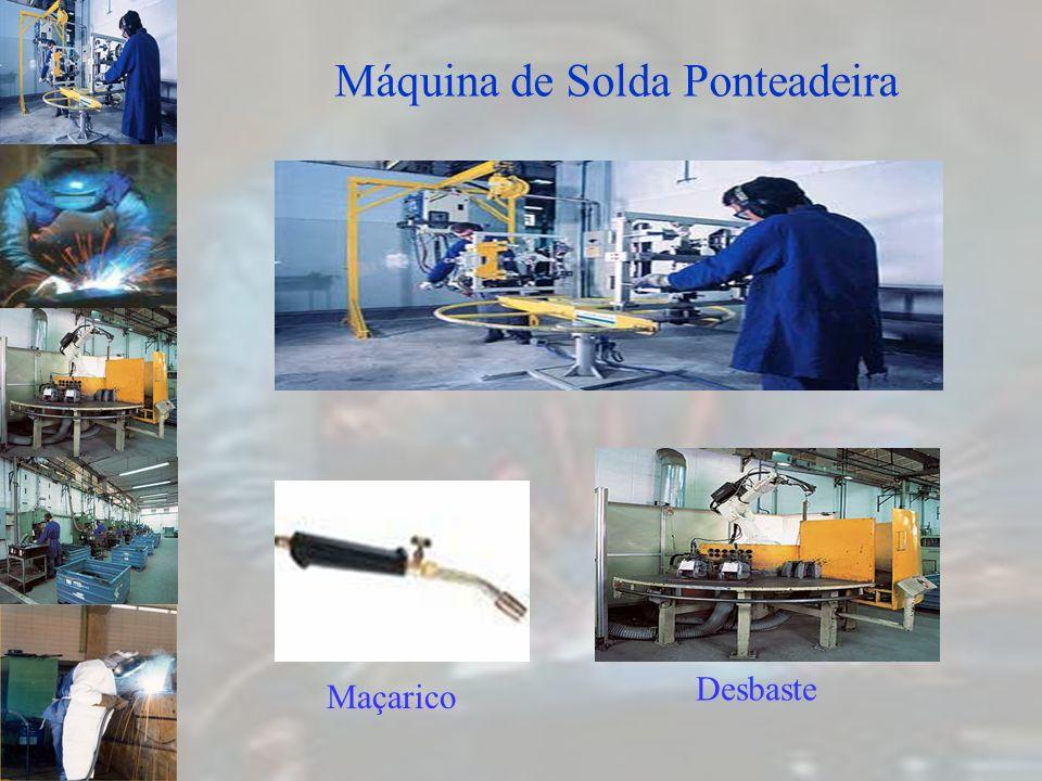 Máquina de Solda Ponteadeira Maçarico Desbaste