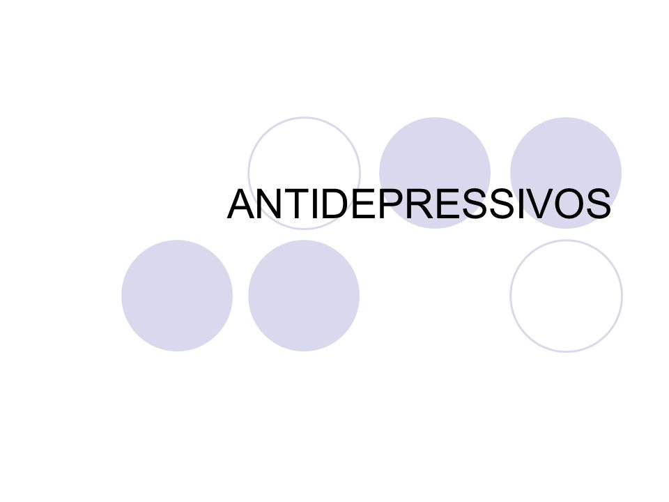 Antidepressivos Inibidores Específicos da Recaptação de Serotonina (ISRS) Quando o antidepressivo aumenta os níveis de NE, pode ocorrer superestimulação do SNC, com taquicardia,hipertensão arterial, etc.