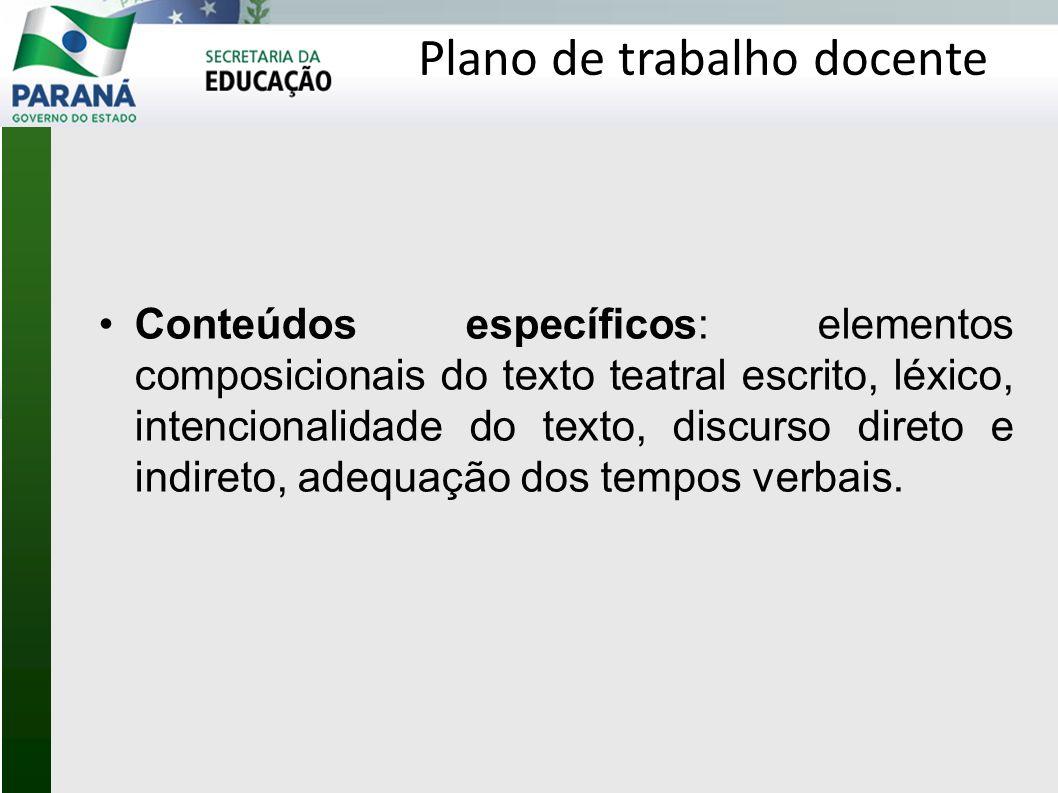 Contato: Departamento de Educação Básica Equipe de língua estrangeira moderna Priscila C.