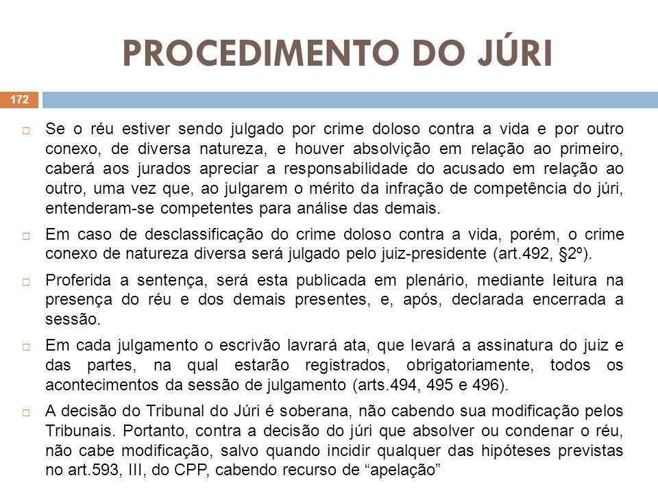 PROCEDIMENTO DO JÚRI Modelo de Quesitação (art.483): 1.