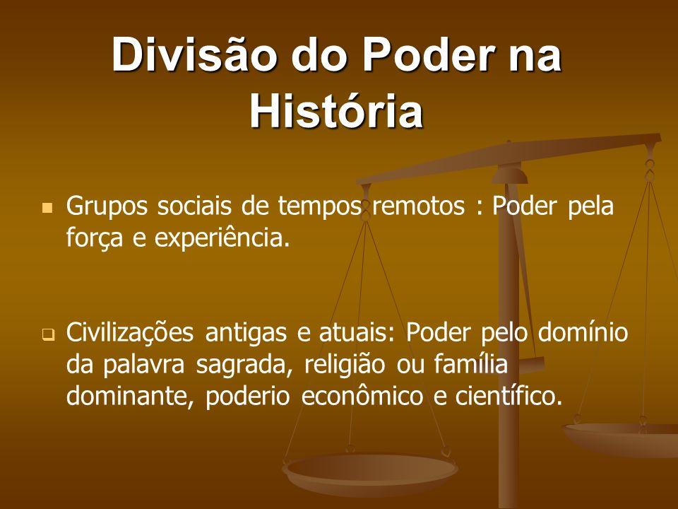 O Poder na História Sempre esteve presente nas relações humanas; Sempre esteve presente nas relações humanas; Numa relação de poder uns agem como líde