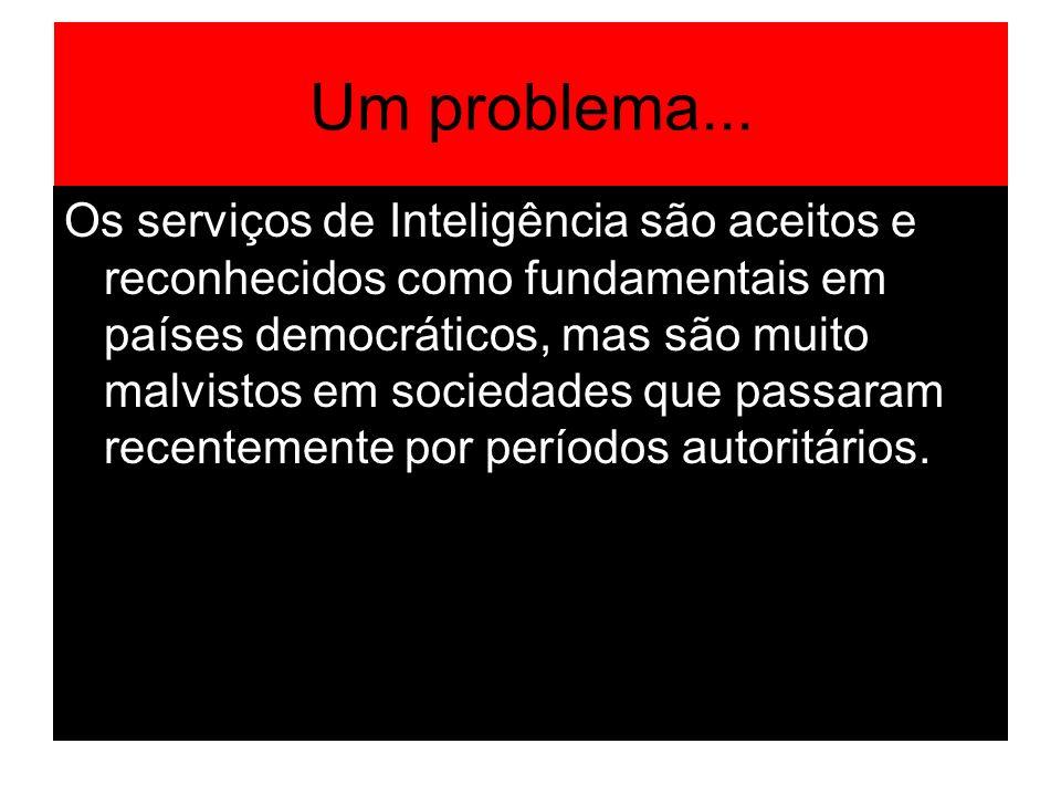 Inteligência compreende informação, atividades e organizações.