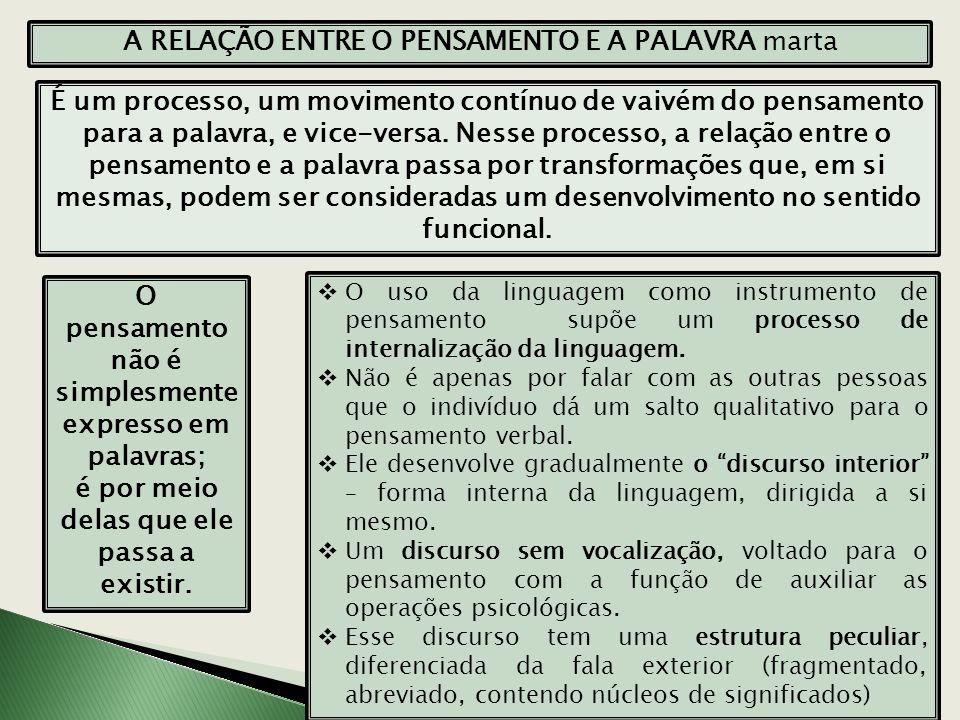 1.ASPECTO SEMÂNTICO INTERIOR DA LINGUAGEM Começa pelo TODO, por uma oração, e só mais tarde passa a apreender as unidades particulares e semânticas.