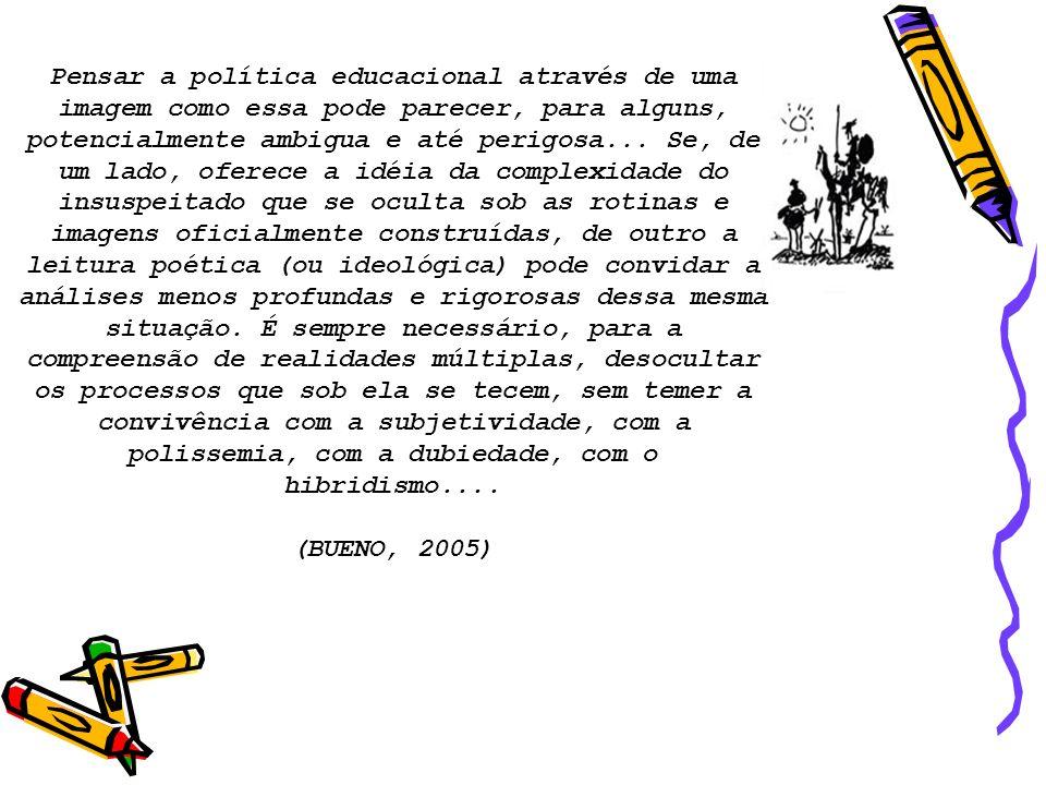 CENÁRIO DE DESTERRITORIALIZAÇÃO O ESTADO pelo MERCADO.